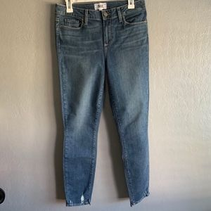 Paige Verdugo ankle skinny light wash jeans sz. 30
